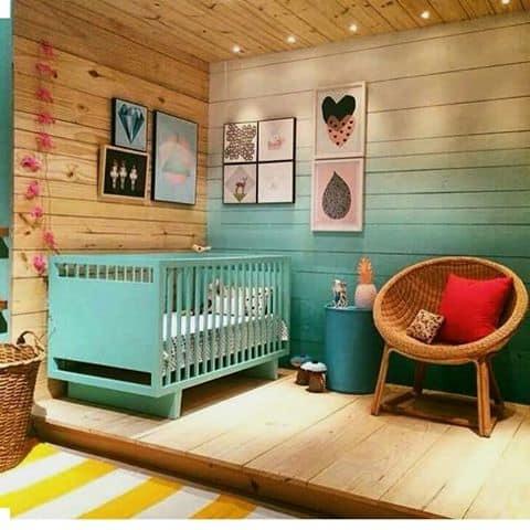 dormitorio de bebe rustico e fofo