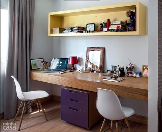 25 FOTOS de Home Office Gabinete Modelos Para Inspirar