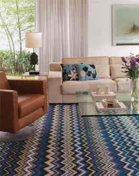 como usar tapetes na sala