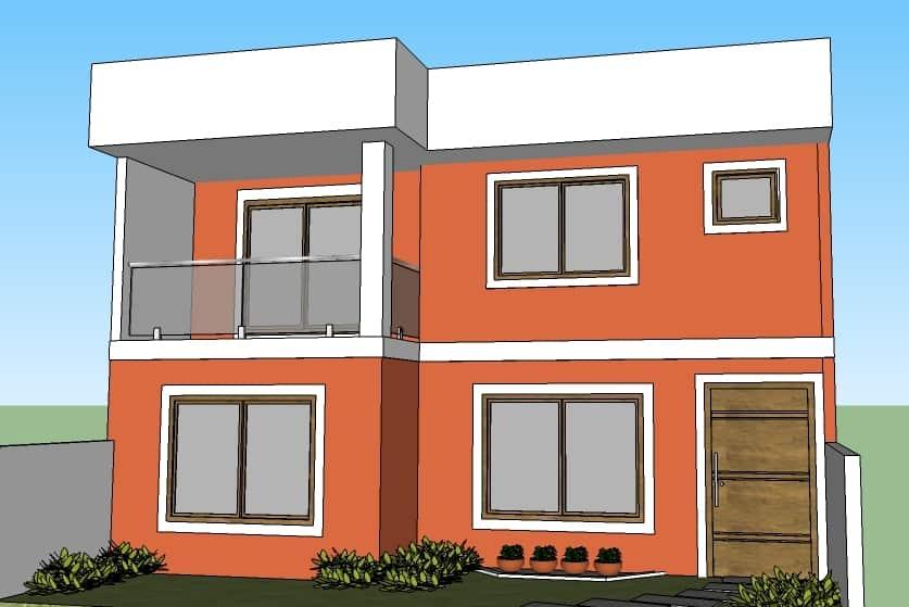 10 ideias fant sticas de cores para fachadas de casas fotos for Cores modernas para fachadas de casas 2016