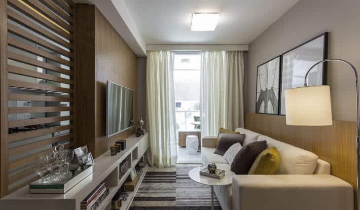 20 salas pequenas decoradas  FOTOS IDEIAS e DiCAS para