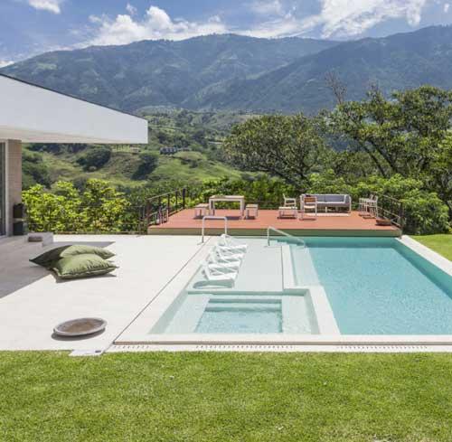 Ideas de Diseo de Piscinas en Colombia modernas y funcionales