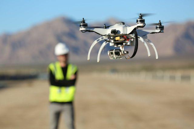 drone na construcao civil