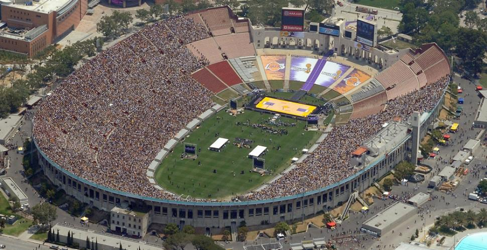 Los Angeles Memorial Coliseum, Los Angeles (Estados Unidos), 1932 e 1984