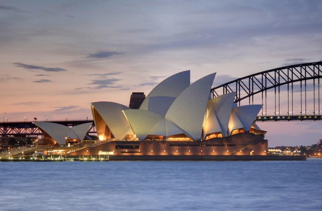 Sydney Opera House, 1965