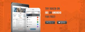 Melhores aplicativos do mundo para engenharia civil: Raken