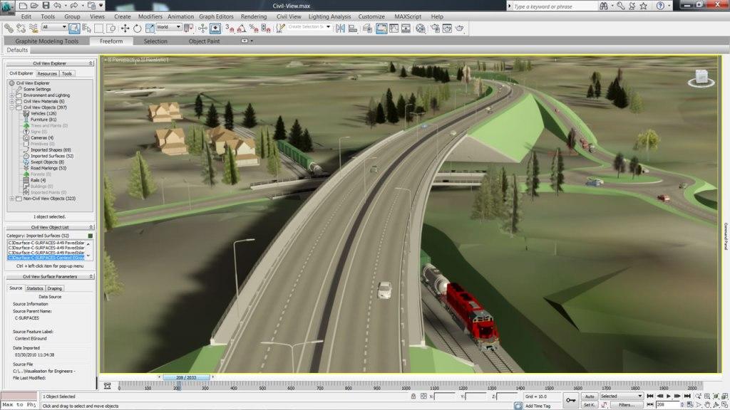 Os melhores softwares para engenharia: AutoCAD Civil 3D