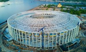 Copa do Mundo 2018: Estádio Novogorod