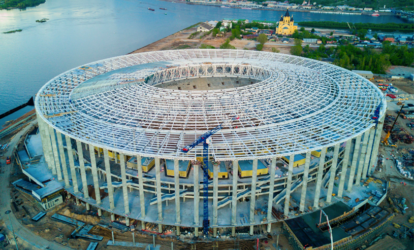 Copa do Mundo 2018: Estádio Novgorod