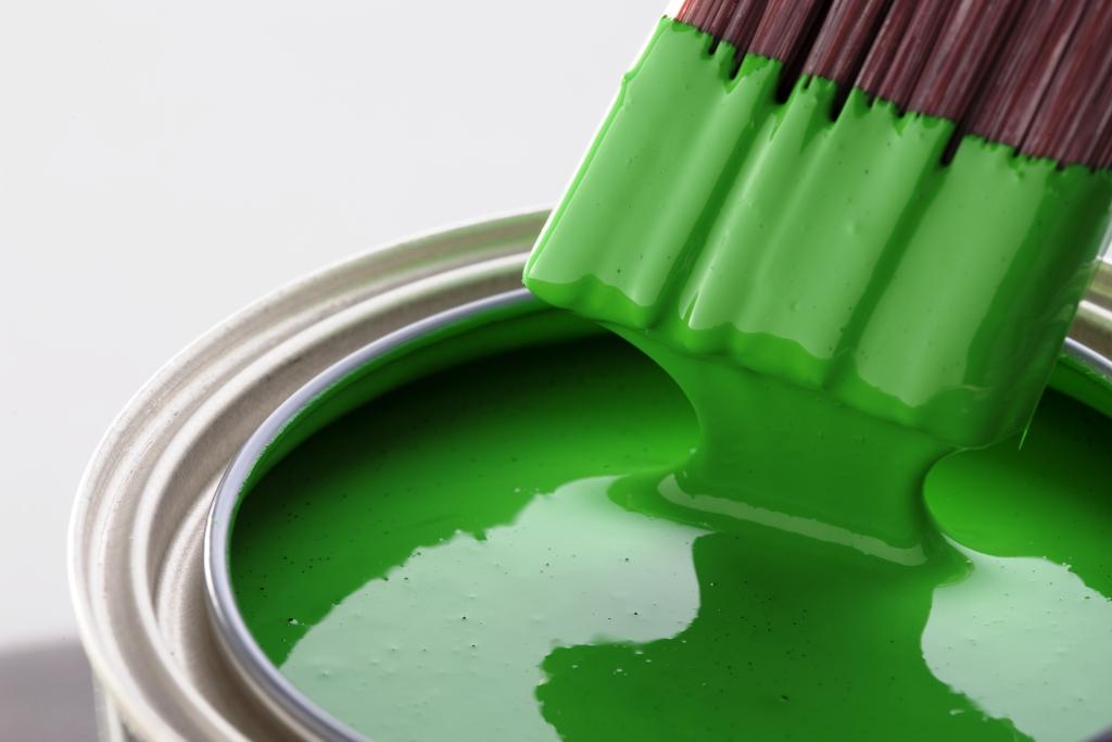 materiais sustentáveis - tinta ecológica