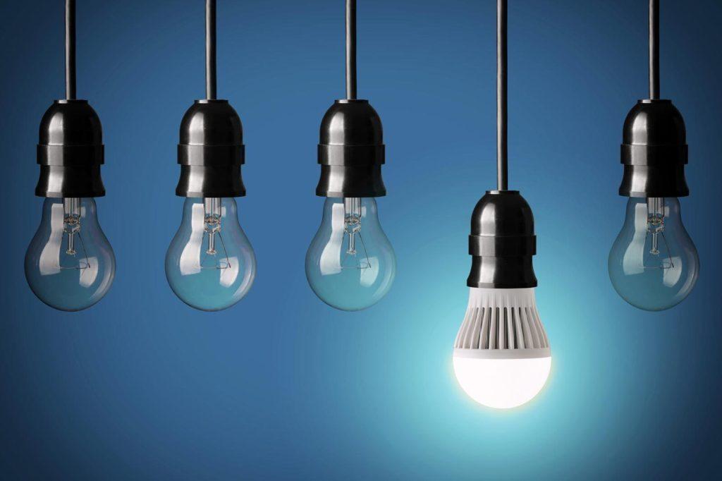 materiais sustentáveis - LED