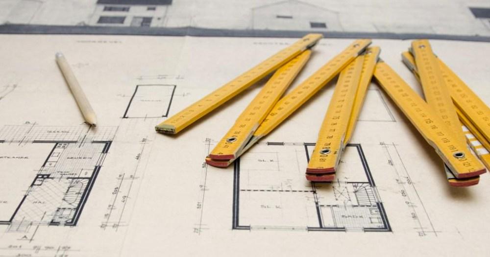 Medição de obras na construção civil