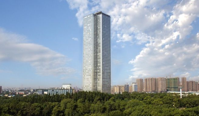 construção civil na china - mini sky city