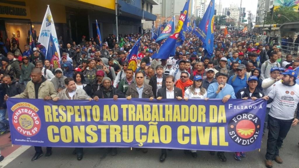 novidades na construção civil - greve em sp é encerrada