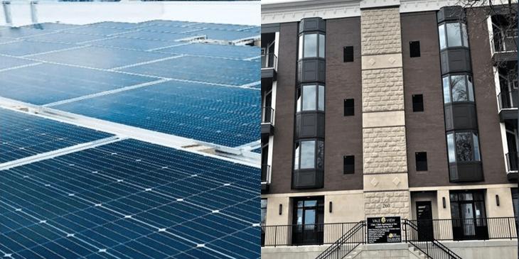 Wayne Enterprise Integrates Bifacial Solar Array on Downtown Valparaiso's Vale View Development