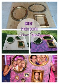 DIY Photo Booth Picture Wall for $10 | construction2style
