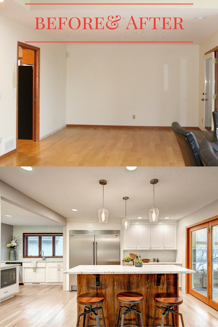 Before  After Kitchen Remodel  construction2style