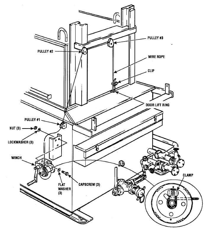 Figure 2-11. Winch Installation.
