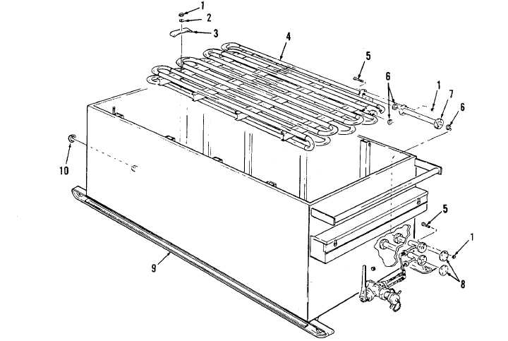 Figure 4-1. Storage Tank and Heater Coil.