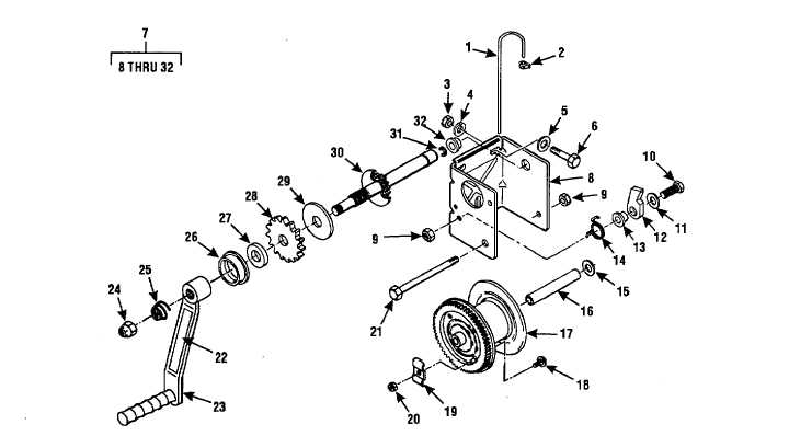 Figure 4-2. Hand Winch Assembly