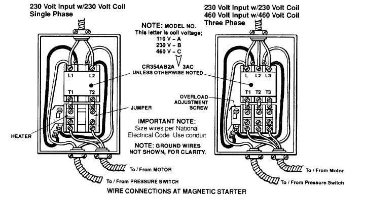 compressor pressure switch wiring diagram 120v