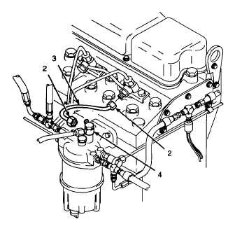2. INSTALL FUEL INJECTOR TUBE.