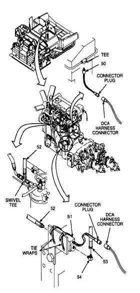 6. INSTALL FUEL PRESSURE TRANSMITTER AND FUEL FILTER