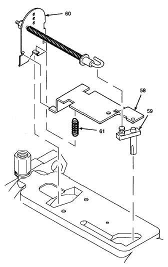 3. REMOVE GOVERNOR ARM ASSEMBLY, METERING VALVE, AND