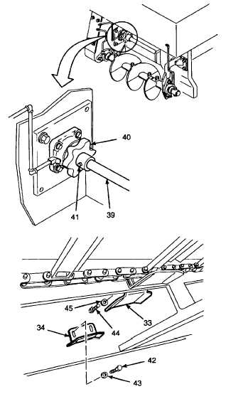 4. INSPECT CONVEYOR DRIVE SHAFT, BEARING UNITS, AND