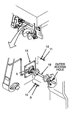 3. INSTALL DRIVE SHAFT AS AN ASSEMBLY