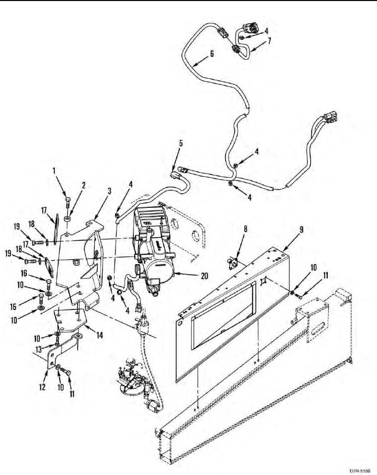 Figure 152. Arctic Kit Heater, Wiring Harnesses, and