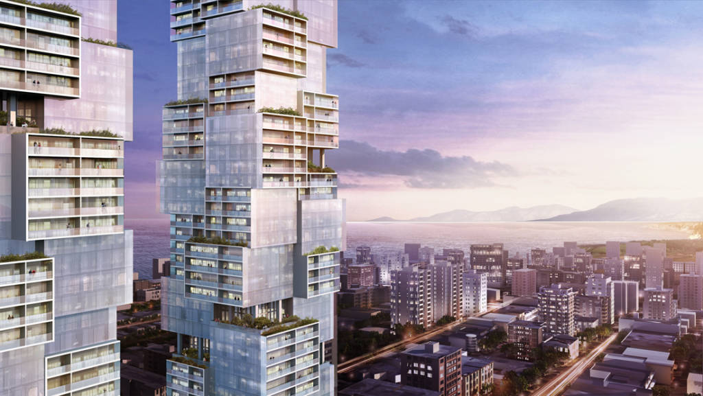 Vancouver Twin Tower Design Reflects The City's Diverse