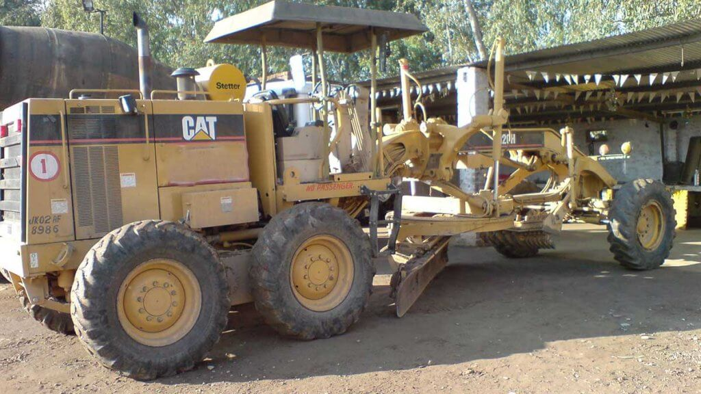 Motor Grader for Subgrade Construction