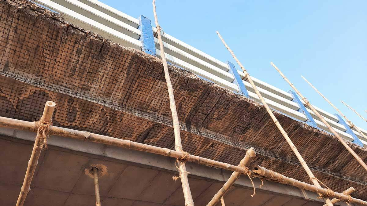 Repair of corrosion affected Reinforced Concrete structures