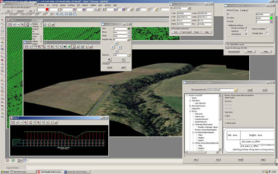 12d Model can streamline the civil engineering, water engineering & land surveying process