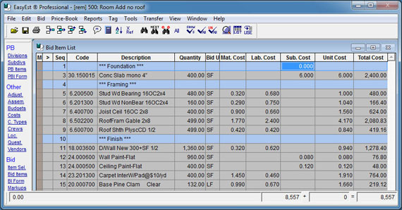 Construction Cost Construction Takeoff Software