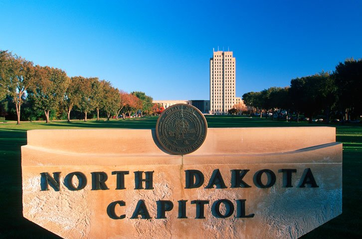 North Dakota capitol CW4WM0
