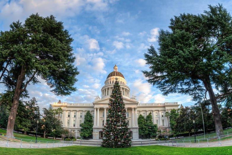 California Sacramento state capitol F5F97B