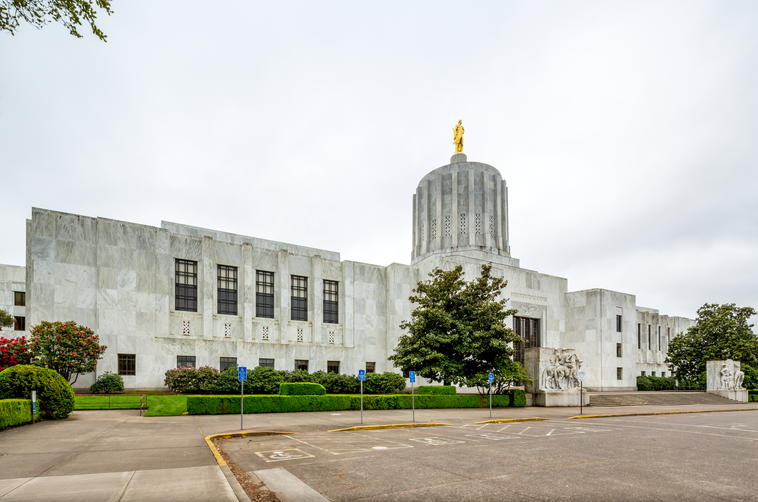 Oregon state capitol P6B666