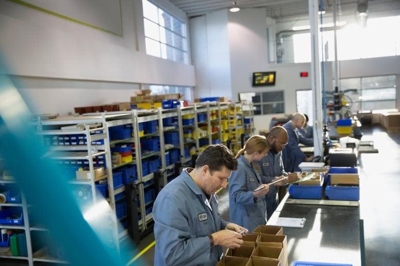 Factory worker FDP83G