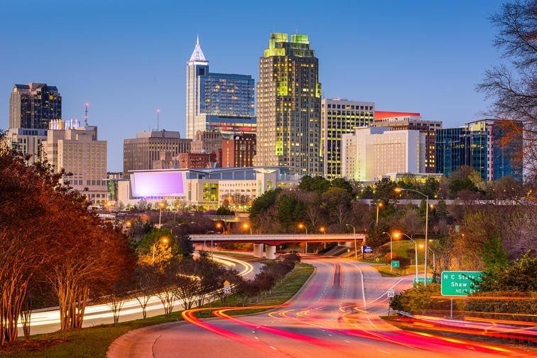 North Carolina Raleigh ERCJCC