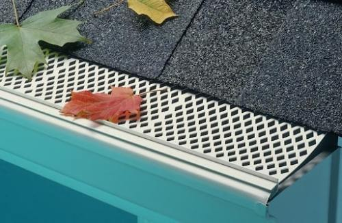 Plastic-Screen Gutter Guard