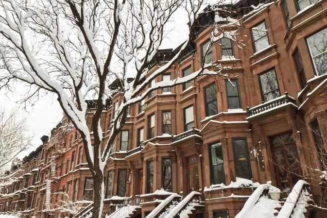 Brooklyn homes in winter