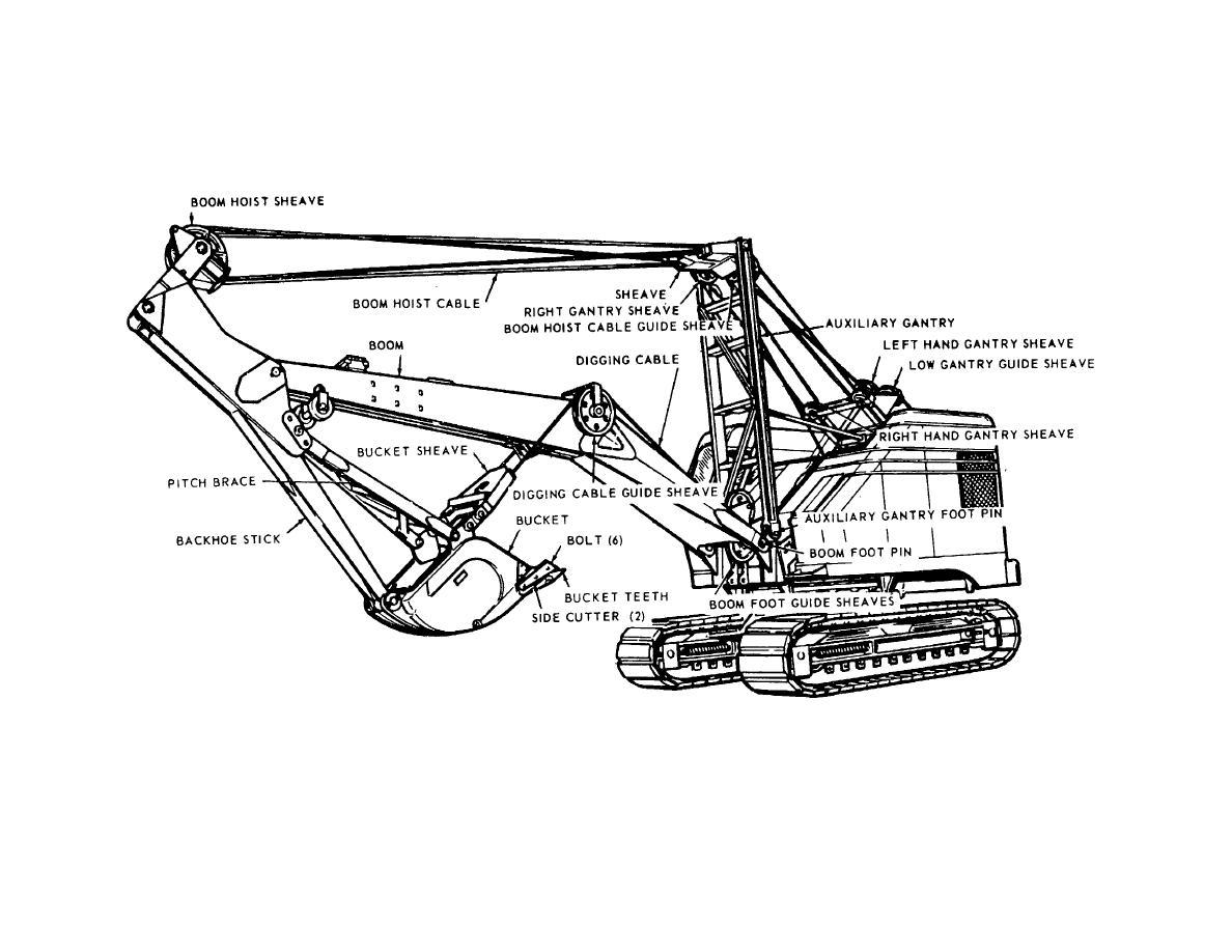crane parts diagram 49cc scooter wiring crawler car interior design