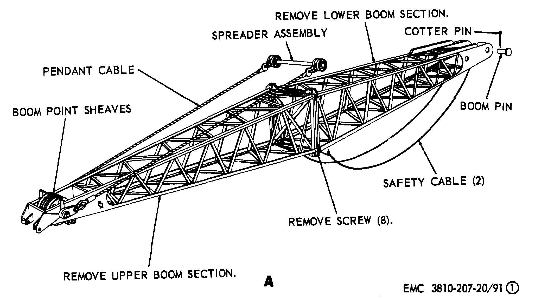 crane parts diagram pond ecosystem truck mounted get free image