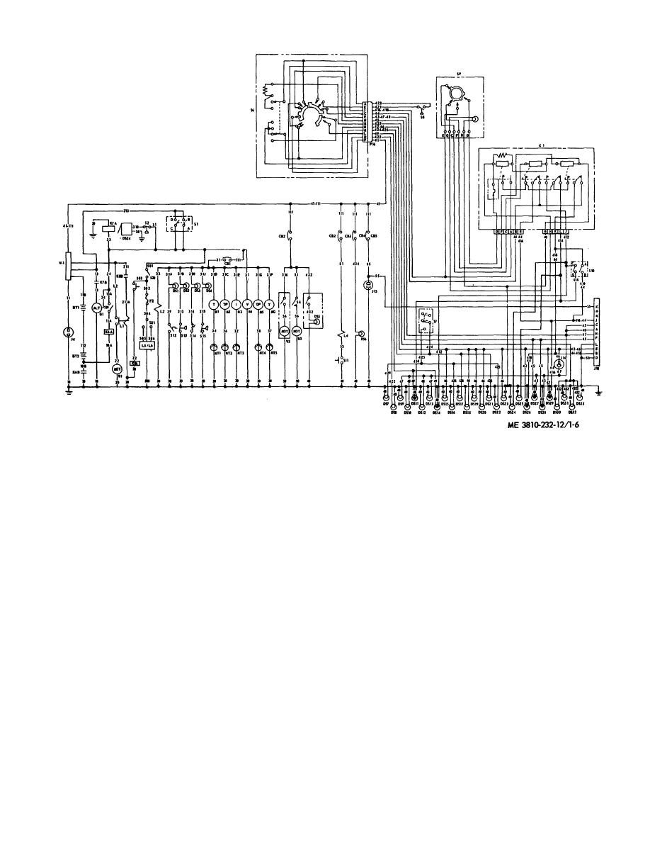 Figure 1-6. Wiring diagram (model 2385)