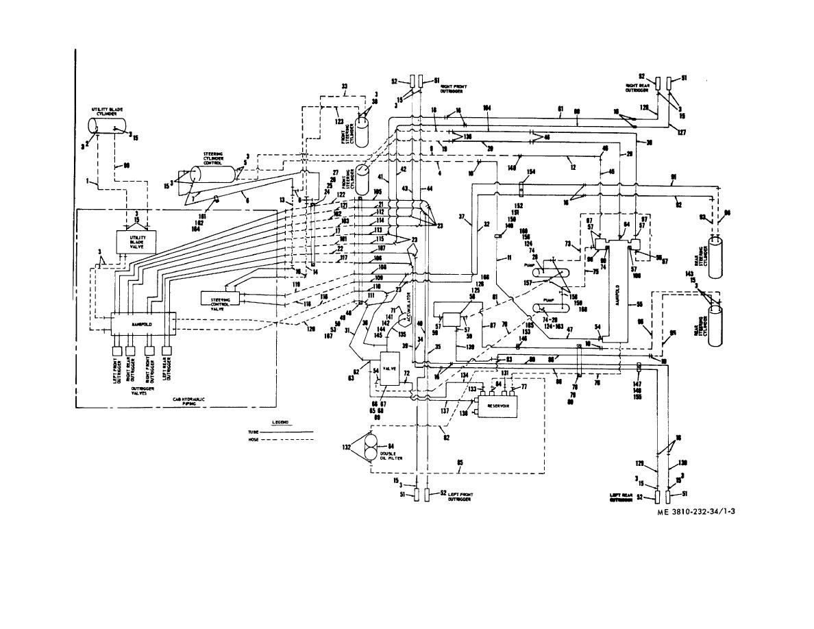 hydraulic crane schematic