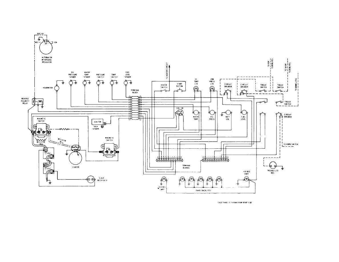 1947 case tractor wiring diagram