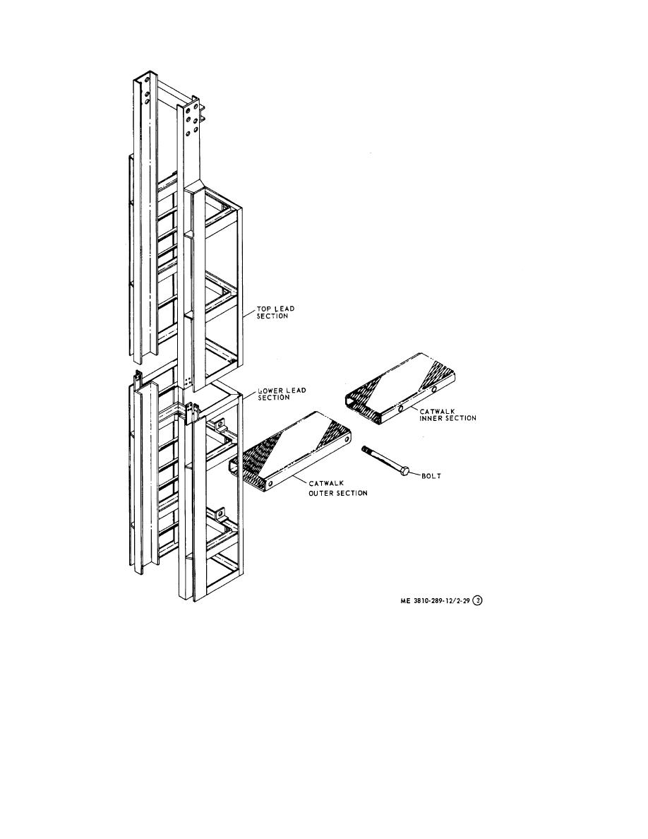 Figure 2-29. Piledriver, assembly and disassembly (sheet 3