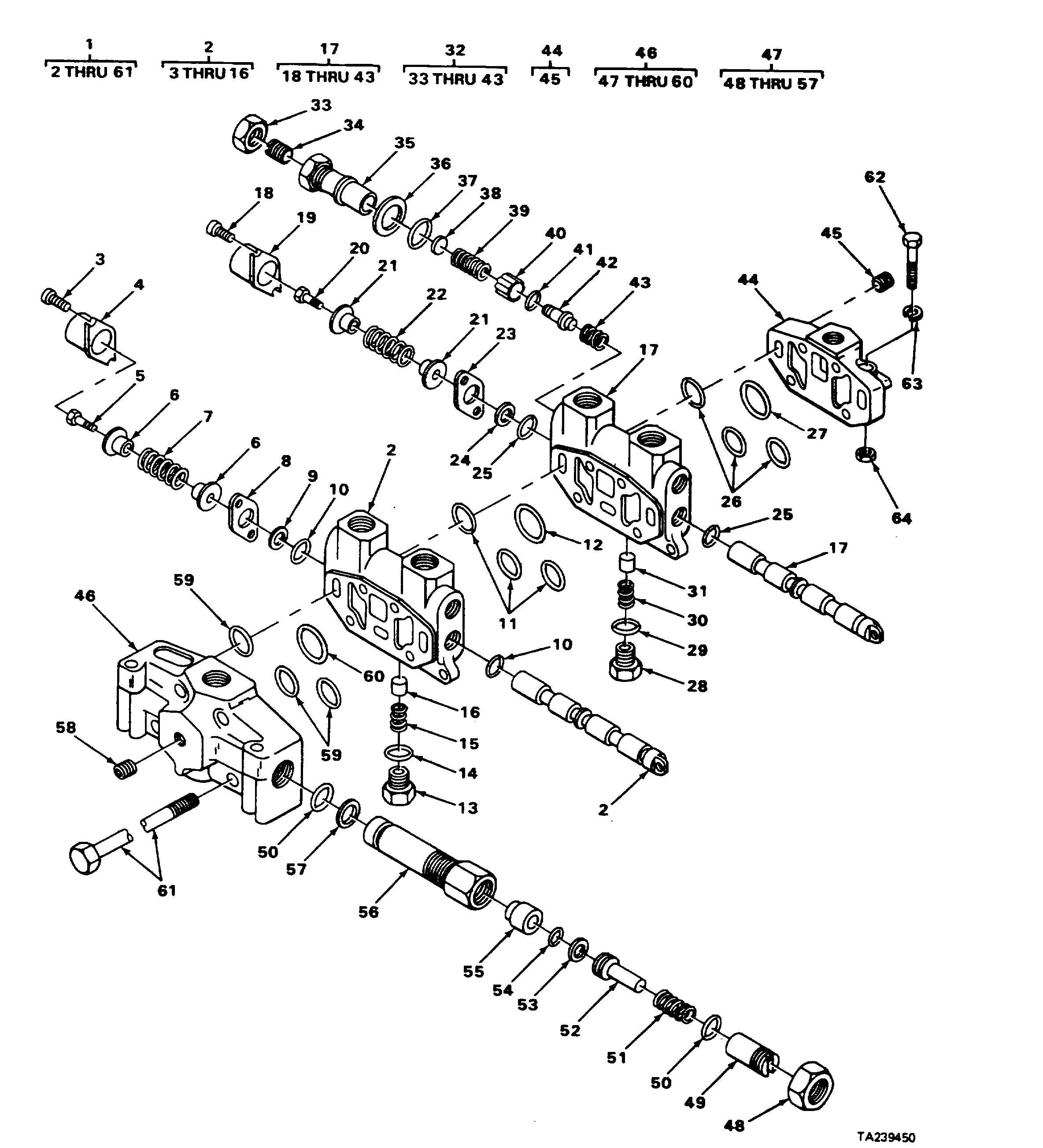 FIGURE 197. 2 BANK VALVE ASSEMBLY A20 SERIES.